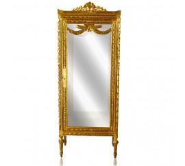 Βιτρίνα χρυσή σκάλισμα Γαλλικό