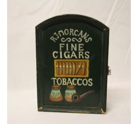 RJ morgans fine cigars and tobaccos πινακίδα
