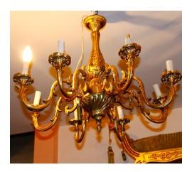 Φωτιστικό οροφής μασίφ μπρούτζος