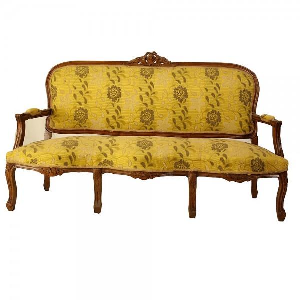Καναπές τριθέσιος λουδοβίκου
