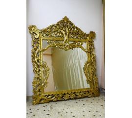 Καθρέφτης χρυσό Ναπολέων σκάλισμα