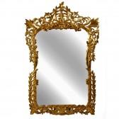 Καθρέφτης χρυσός Ναπολέων σκάλισμα