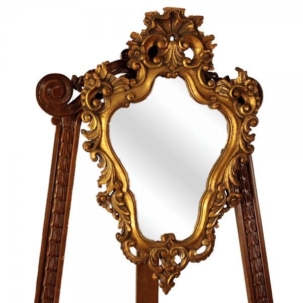 Καθρέφτης χρυσός Βικτωριανό Αντίκα