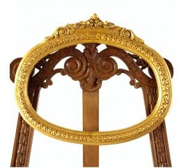Καθρέφτης χρυσό οβάλ κλασικός