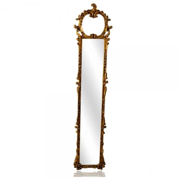 Καθρέφτης χρυσό κολώνας κλασικός