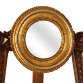 Καθρέφτης χρυσό μίνι βοηθητικός